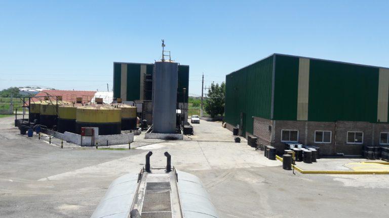 Almacenamiento de asfaltos y emulsiones